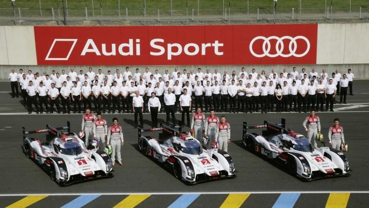 Audi's Siegmannschaft?