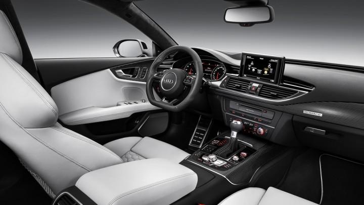 Audi RS7 Sportback 2015 Facelift Innenraum Interieur Cockpit