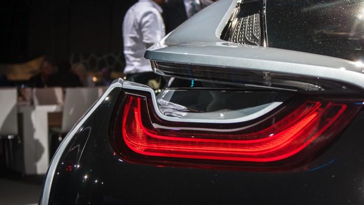 BMW i8 Rückleuchten