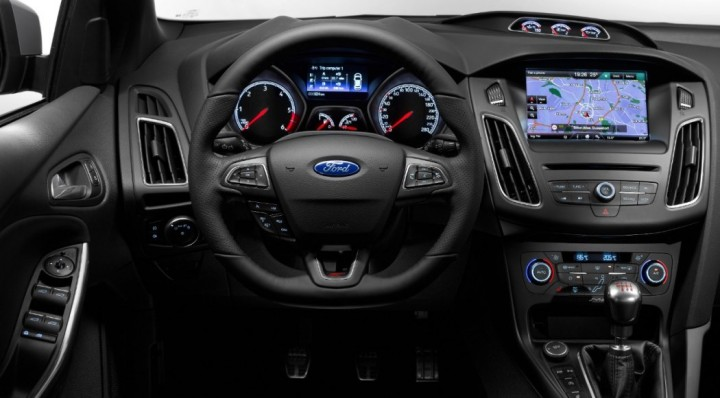 2015 Ford Focus ST Facelift | Ford Focus ST Diesel | Interieur, Innenraum, Cockpit