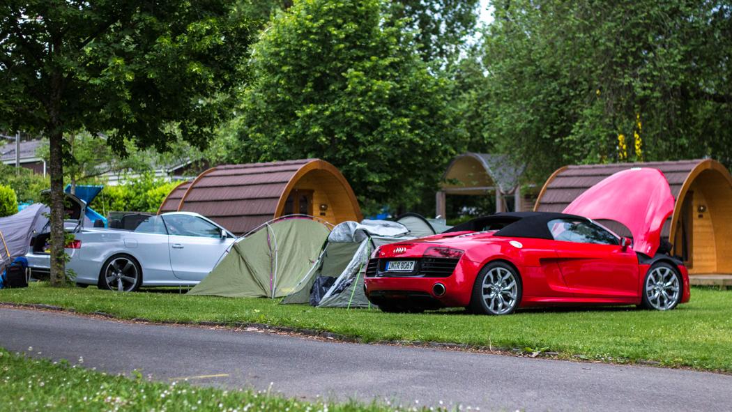 #thepluses2 - Camping am Genfer See - Audi R8 V10 Spyder RS5 Cabriolet