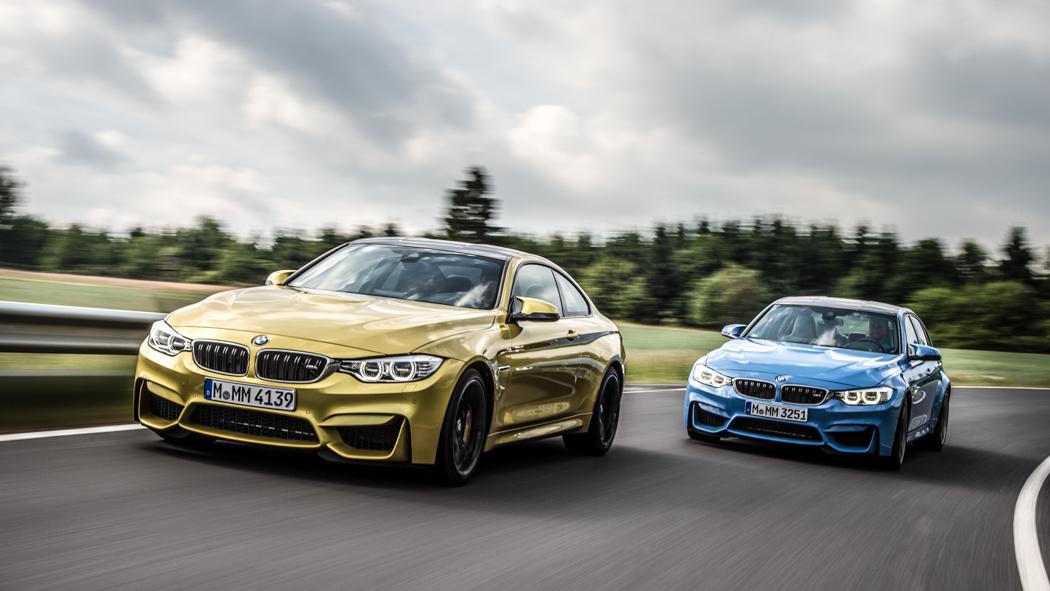 BMW M3 Limousine F80, BMW M4 Coupé F82