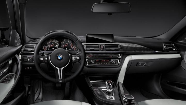 BMW M3 Limousine F80, BMW M4 Coupé F82 Cockpit Interieur Armaturenbrett
