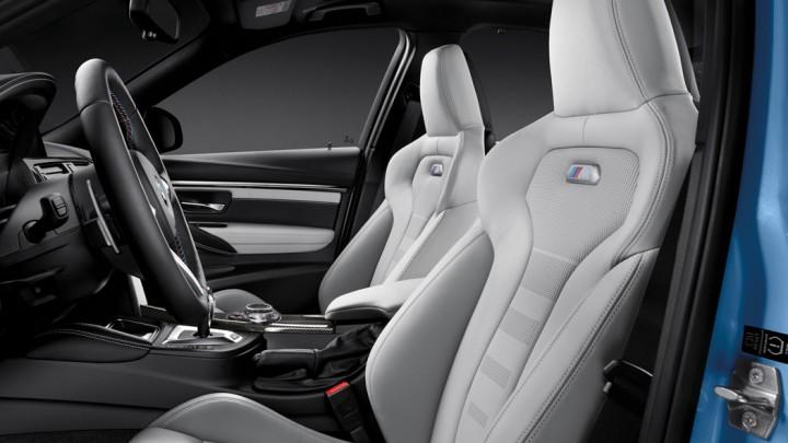 BMW M3 Limousine F80, BMW M4 Coupé F82 Interieur Cockpit Sitze