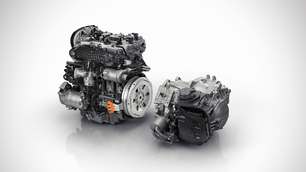 Neuer Volvo XC90 Twin Engine T8 Motor