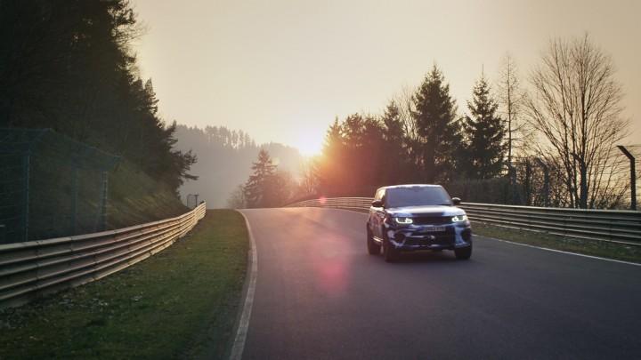 Range Rover Sport SVR 5.0 V8 SUV Rundenrekord auf der Nürburgring Nordschleife