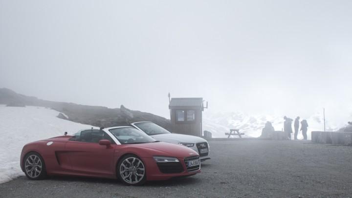 #thepluses2 - Route des Grandes Alpes | Col de la Croix des Fer | Audi R8 V10 Spyder RS5 Cabriolet