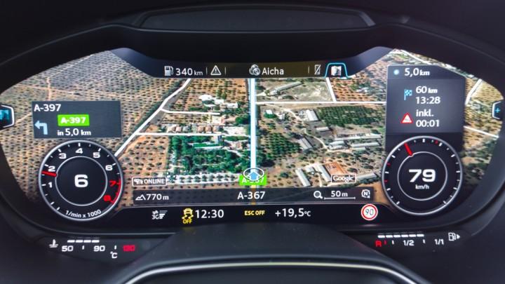 Audi TTS Coupé Virtual Cockpit