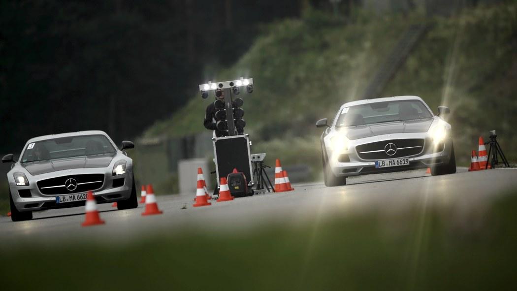Dunlop AMG Driving Experience Mercedes-Benz SLS AMG GT Final Edition