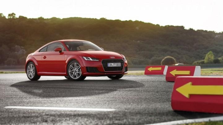 Neues Audi TT Coupé