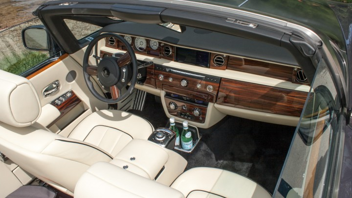 Rolls-Royce Phantom Drophead Coupé Innenraum / Cockpit
