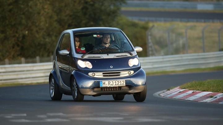 smart fortwo 450 auf der Nürburgring Nordschleife