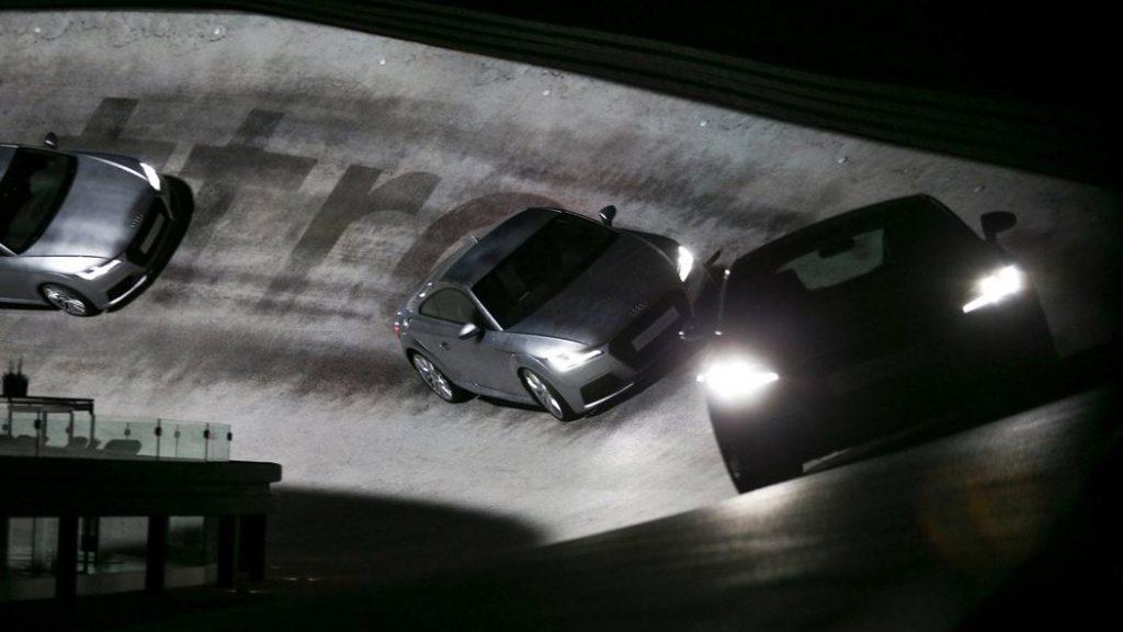 Audi TT 360° in Frankfurt