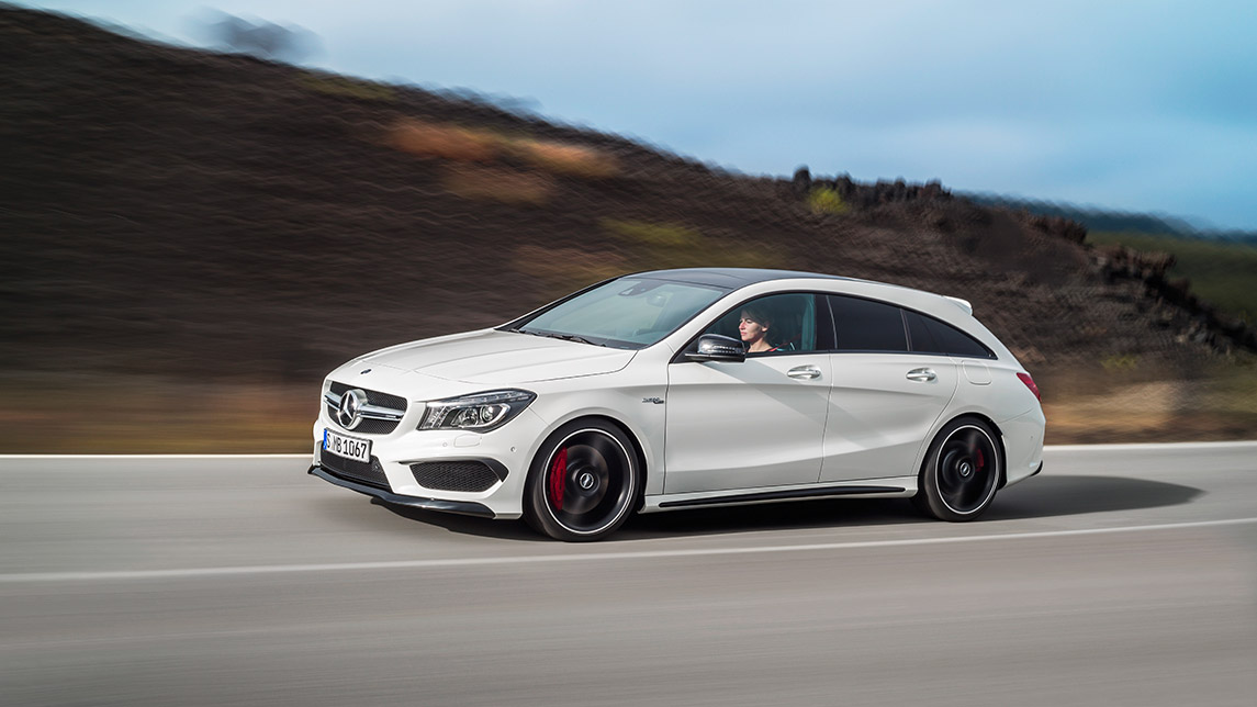 Familienkutsche deluxe neuer mercedes benz cla 45 amg for Mercedes benz of cleveland