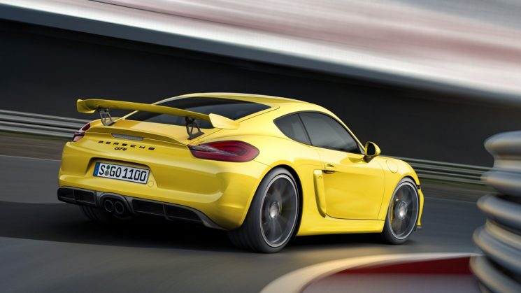 Neuer Porsche Cayman GT4