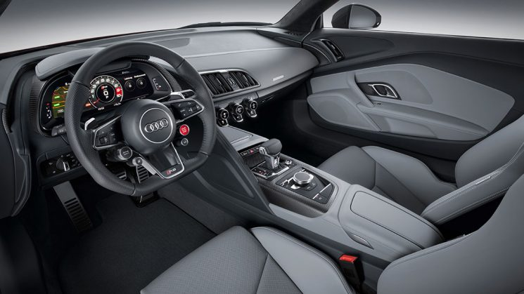 Neuer 2015 Audi R8 V10 plus Virtual Cockpit