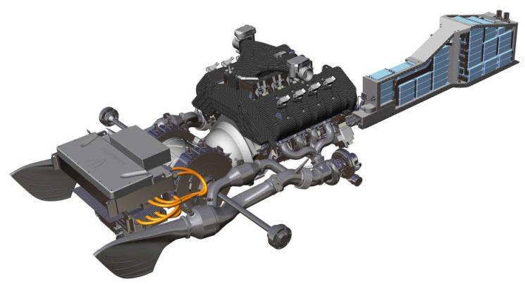 Koenigsegg Regera Antriebsstrang