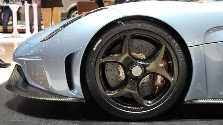Koenigsegg Regera Carbonfelgen