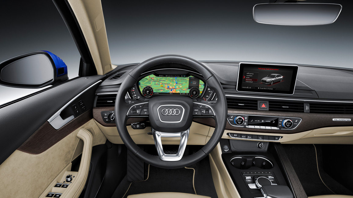Interieur audi for Interieur audi a4 avant