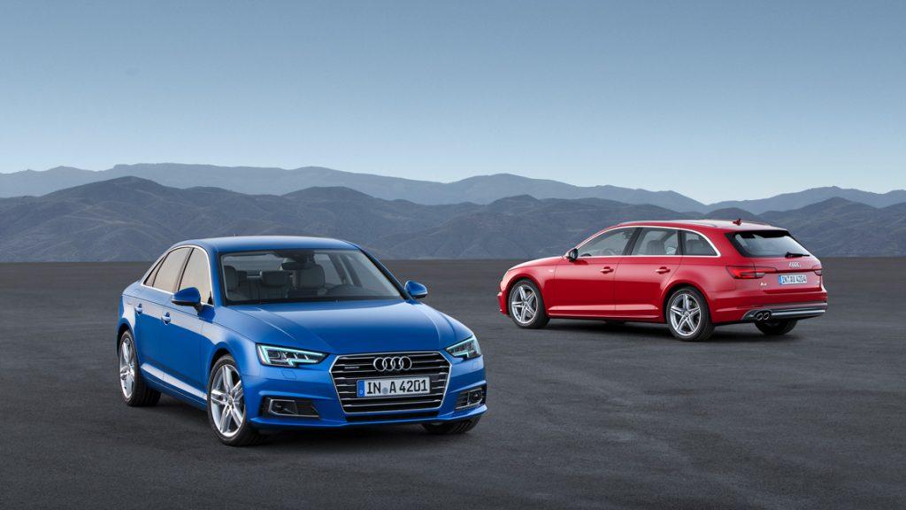 Neuer 2016 Audi A4 B9 - Avant und Limousine