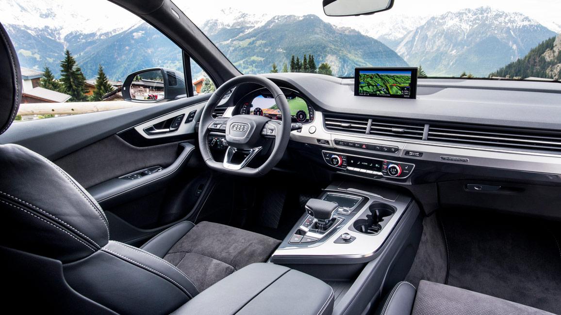 Suff Deluxe Erster Test Des Neuen Audi Q7 2 Generation