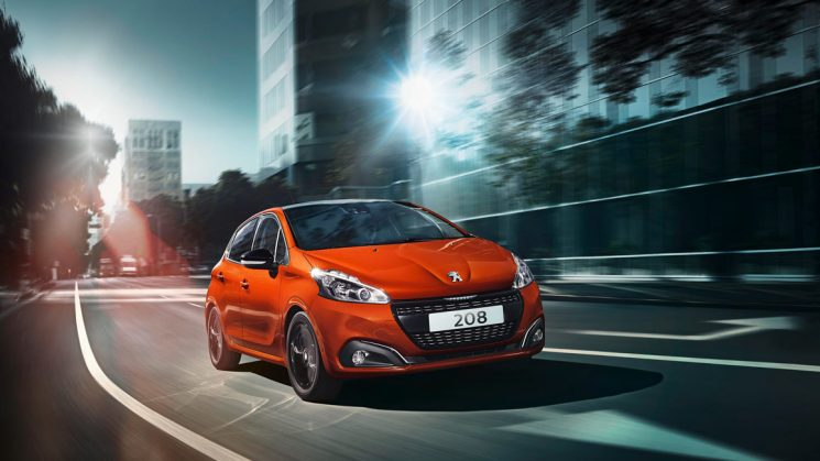 Neuer Peugeot 208 Orange Power - Impress Yourself