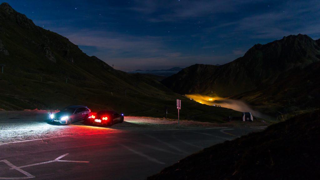 #thepluses3 - Nacht am Col du Tourmalet in den Pyrenäen