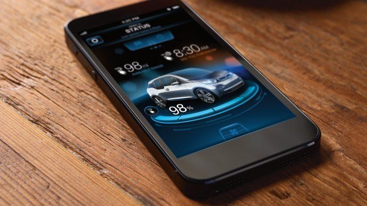 Schlüssel zum Glück: die BMW i3 Remote App