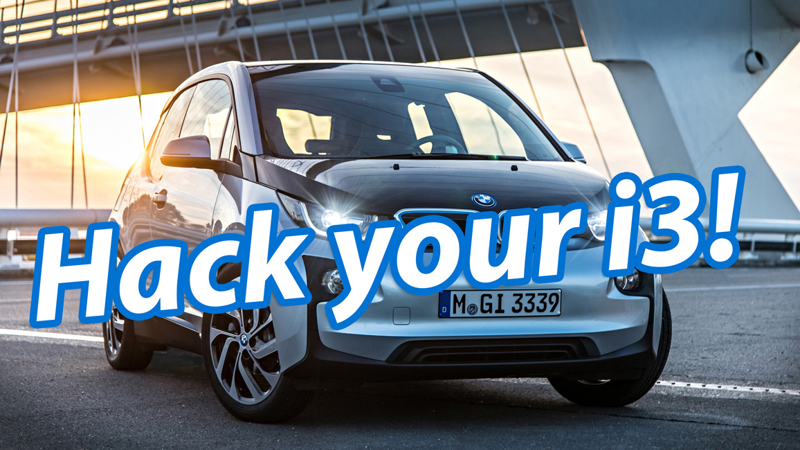 Hack your BMW i3!