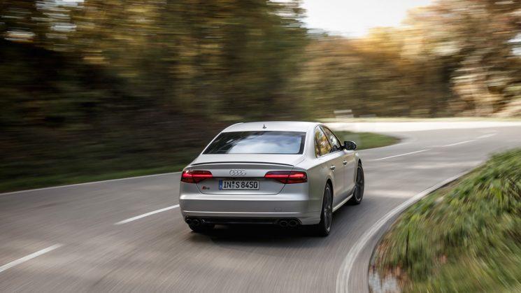 Audi S8 plus Florettsilber