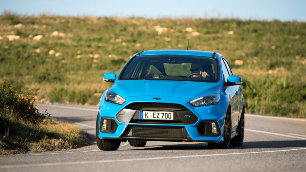 Ford Focus RS Mk3 2016 Nitrous Blau