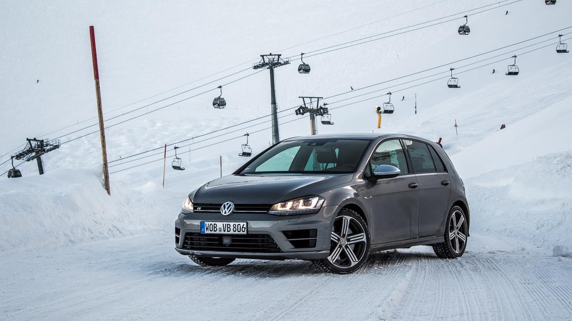 vw golf r vii fahrbericht wintersport ist back passion driving. Black Bedroom Furniture Sets. Home Design Ideas