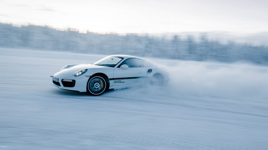 "Porsche Driving Experience ""Ice Force"" Levi, Finnland"
