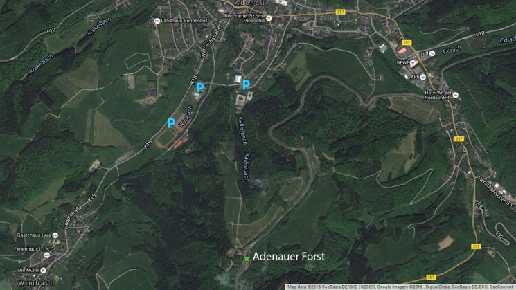 Nürburgring Nordschleife Carfreitag 2017 - Parken am Adenauer Forst