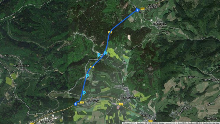 Nürburgring Nordschleife - Carfreitag 2016 - Straßensperren