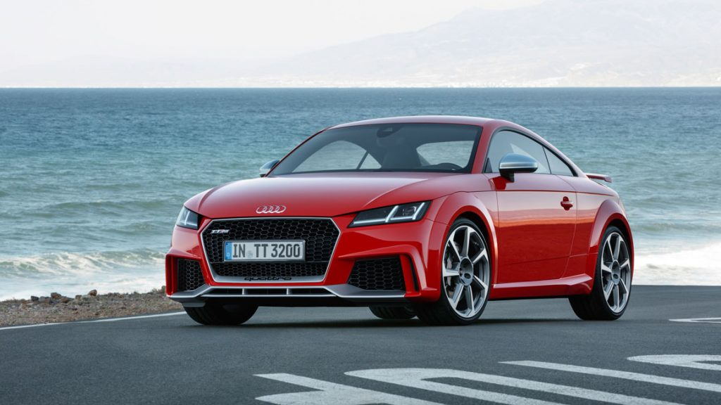 Neues Audi TT RS Coupé