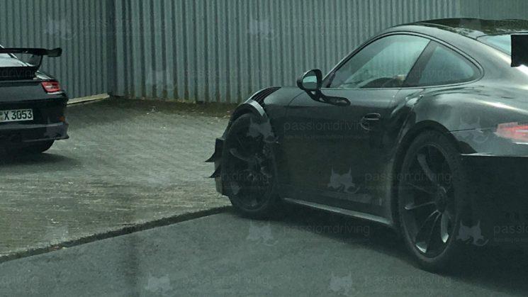 Porsche 911 GT2 RS 991.2 Flics am Erlkönig