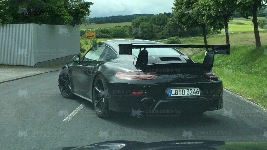 Porsche 911 GT2 RS 991 Erlkönig