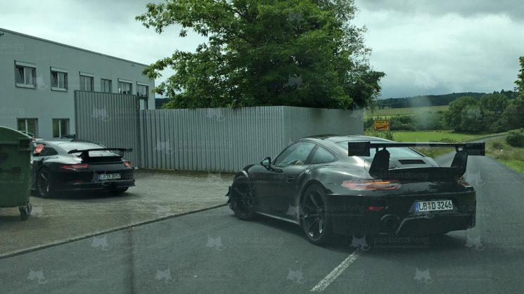 Porsche 911 GT2 RS 991.2 Erlkönig