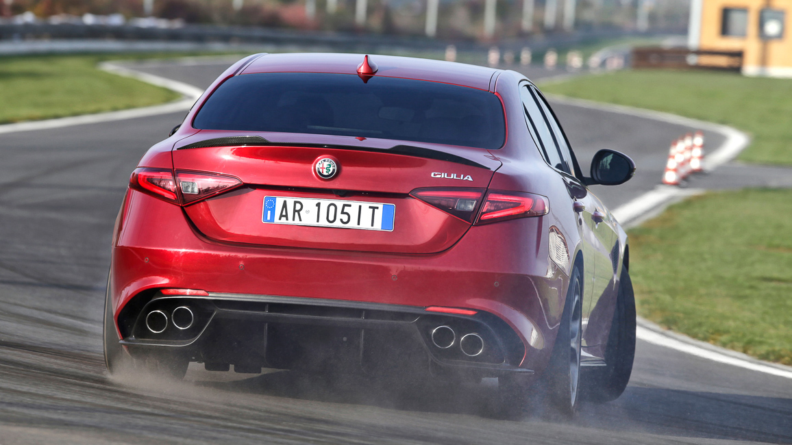 Alfa Romeo Giulia QV Tracktest Nürburgring