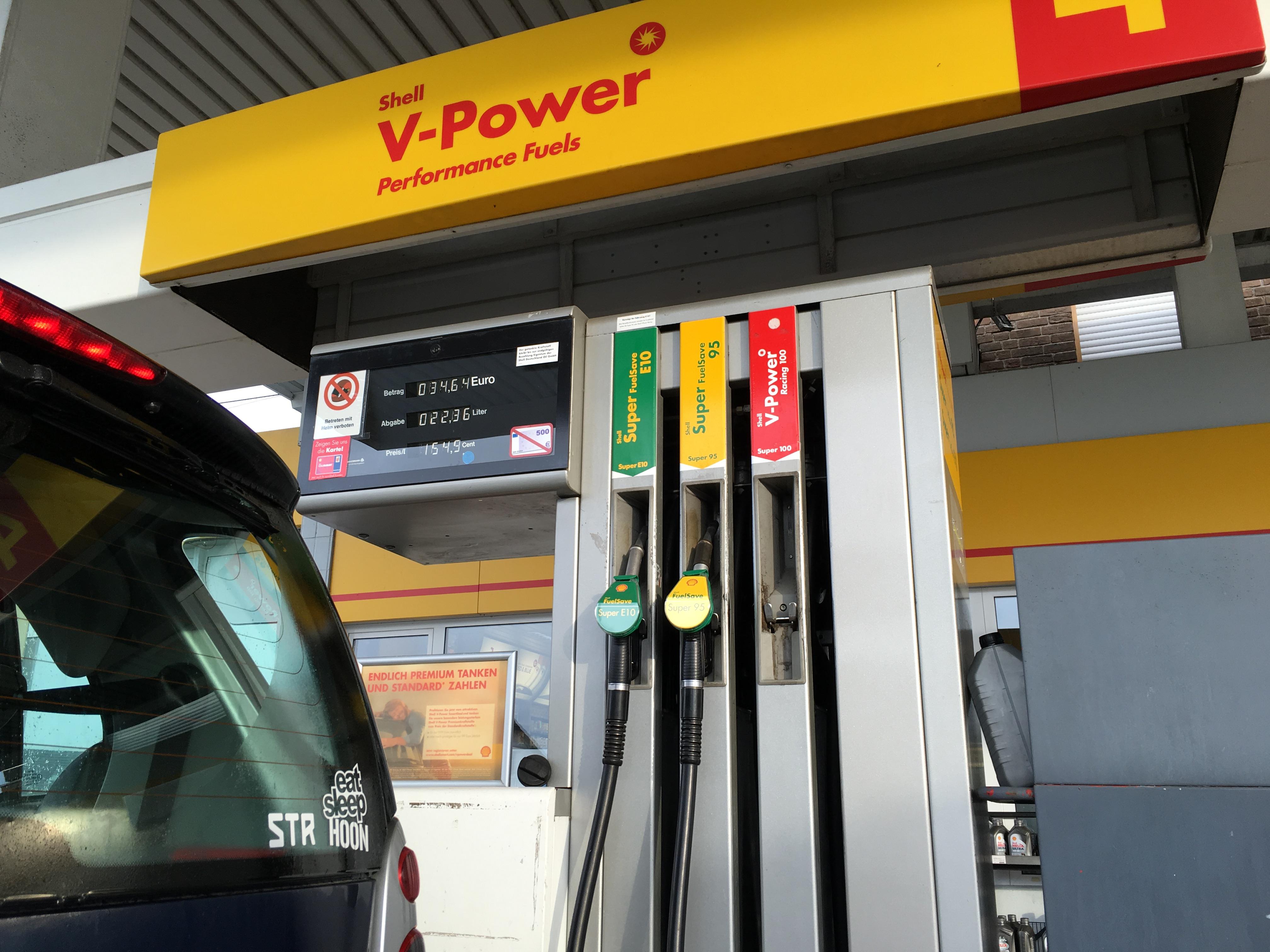 Shell Tankstellen Karte.Erfahrungsbericht Wie Funktioniert Der Shell V Power Smartdeal
