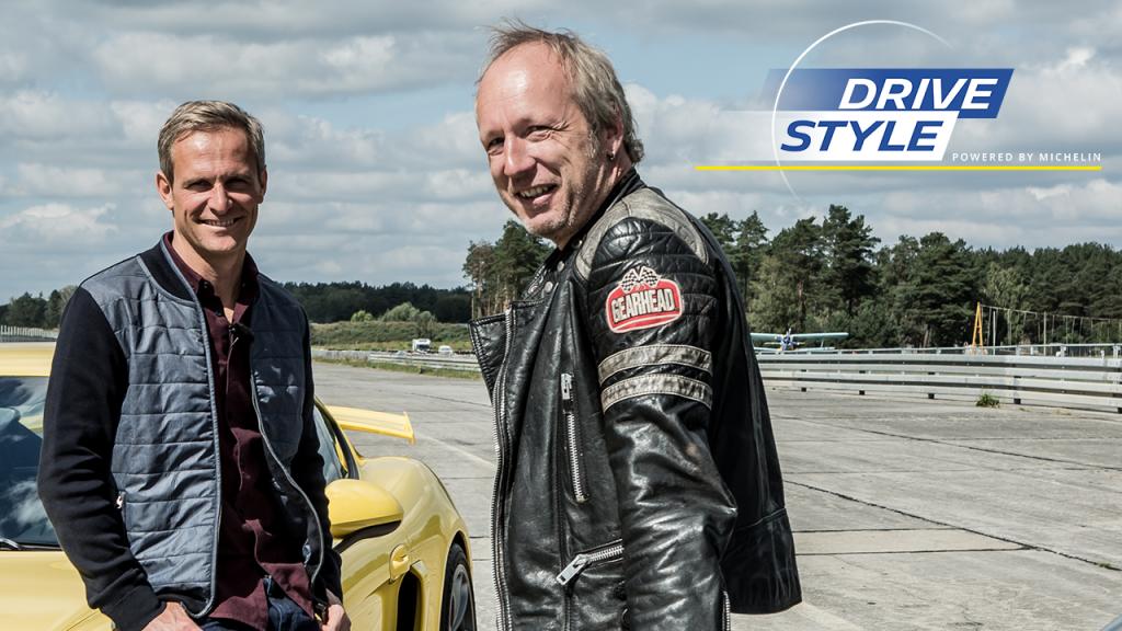 Michelin DRIVESTYLE Matthias Malmedy & Helge Thomsen im Cayman GT4