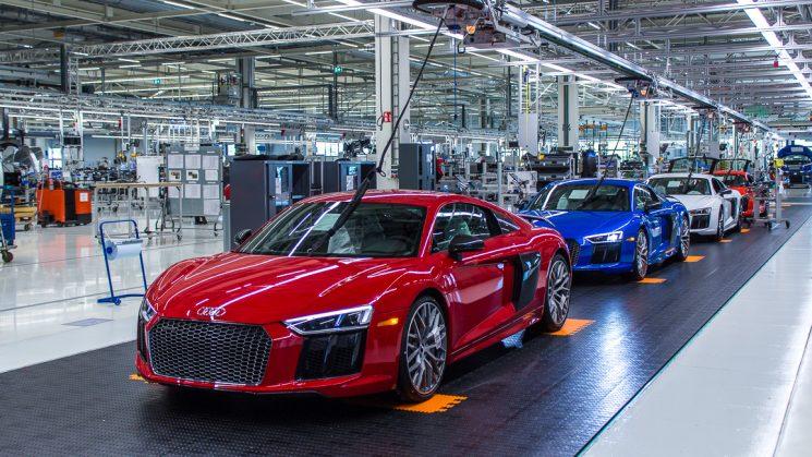 Audi R8 Manufaktur Böllinger Höfe