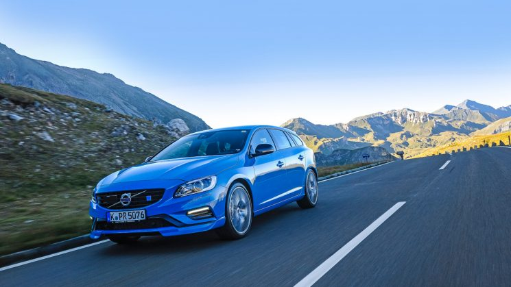 Volvo V60 Polestar MY2017 Rebel Blue