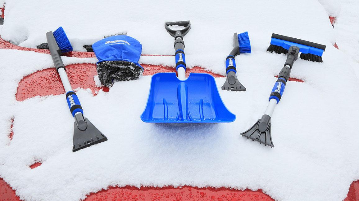 Michelin Winterzubehör für's Auto: Eiskratzer, Handfeger, Schaufel