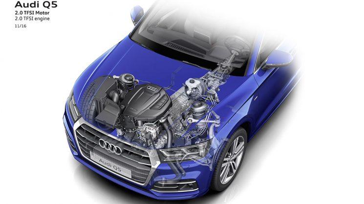2.0 TFSI Benziner im Audi Q5 Quattro