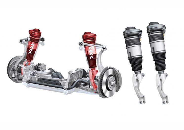 adaptive air suspension Fahrwerk im neuen Audi Q5