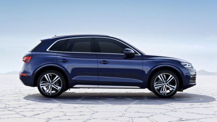 Audi Q5 - Coupéhafte Seitenlinie