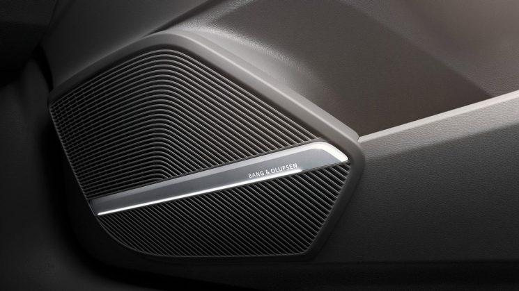 Bang & Olufsen Soundsystem mit 3D Sound im neuen Audi Q5