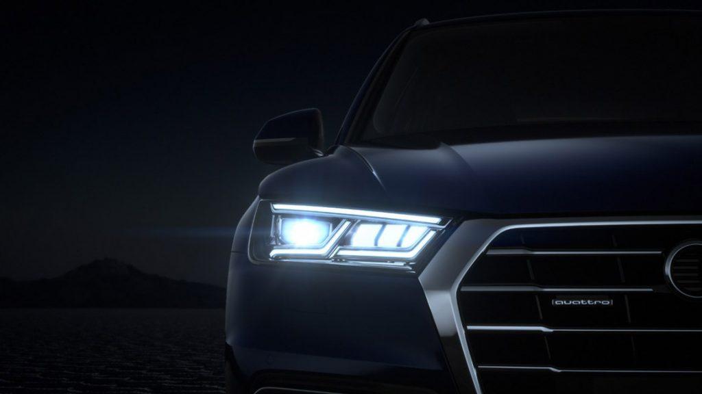 Matrix LED Scheinwerfer im neuen Audi Q5
